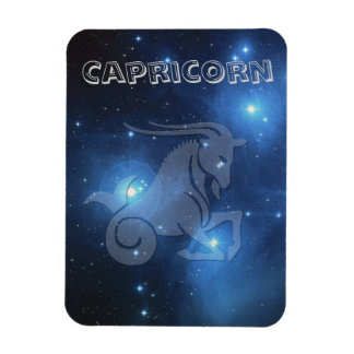 Transparent Capricorn Magnet