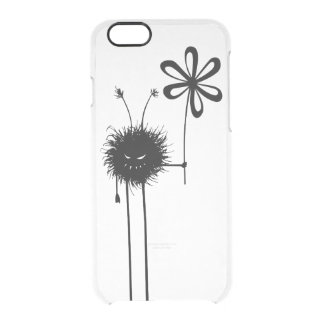 Transparent Evil Flower Bug Vintage Clear iPhone 6/6S Case