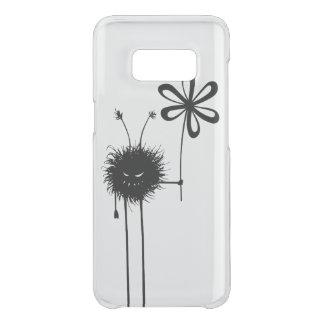Transparent Evil Flower Bug Vintage Uncommon Samsung Galaxy S8 Case