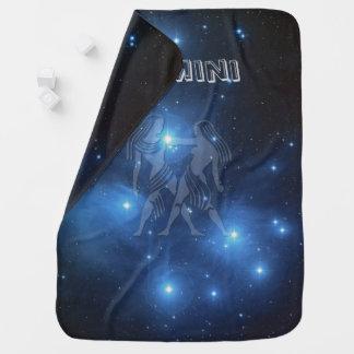Transparent Gemini Baby Blanket