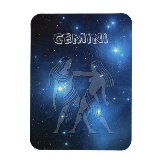 Transparent Gemini Magnet