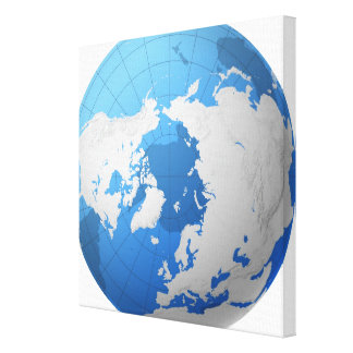 Transparent Globe 2 Gallery Wrapped Canvas