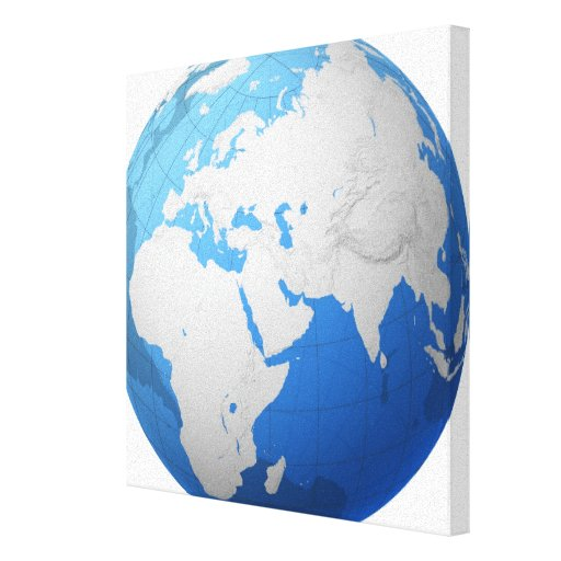 Transparent Globe 3 Canvas Print