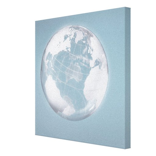 Transparent Globe Gallery Wrapped Canvas