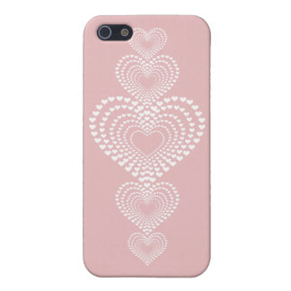 Transparent hearts <3 iPhone 5 covers