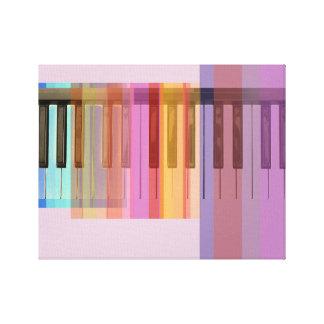 Transparent Keys Canvas Print
