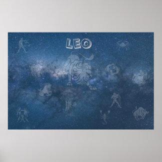 Transparent Leo Poster