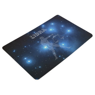 Transparent Libra Floor Mat