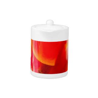 Transparent mug with citrus mulled wine