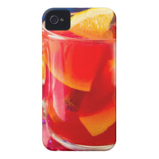 Transparent mug with citrus mulled wine Case-Mate iPhone 4 cases