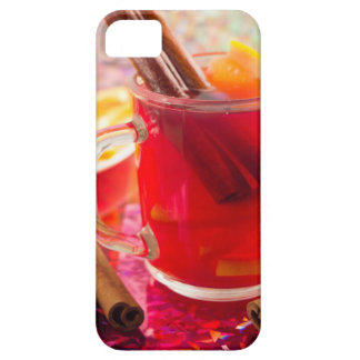 Transparent mug with citrus mulled wine, cinnamon iPhone 5 cover