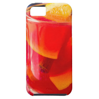 Transparent mug with citrus mulled wine iPhone 5 cases