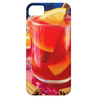 Transparent mug with citrus mulled wine iPhone 5 covers