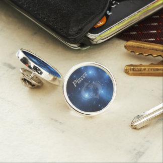Transparent Pisces Lapel Pin