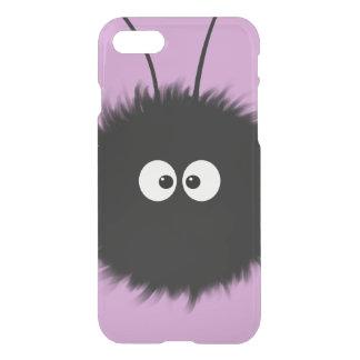 Transparent Purple Kawaii Cute Dazzled Bug iPhone 7 Case