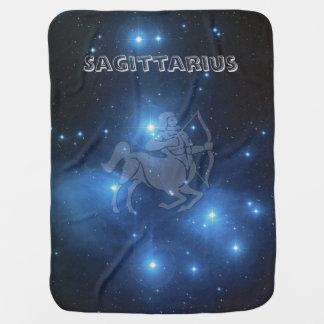 Transparent Sagittarius Baby Blanket