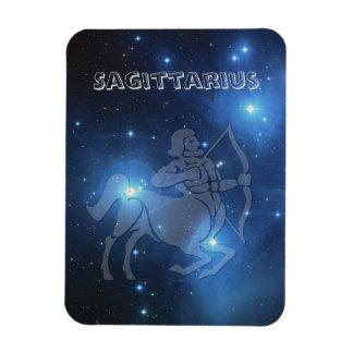 Transparent Sagittarius Magnet