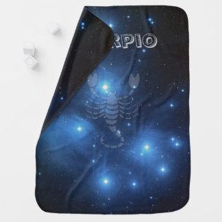Transparent Scorpio Baby Blanket