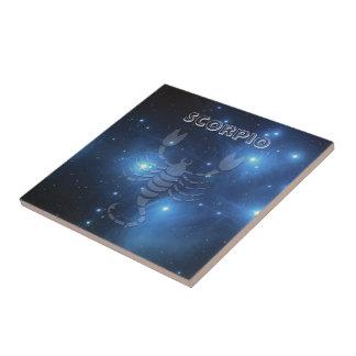Transparent Scorpio Ceramic Tile
