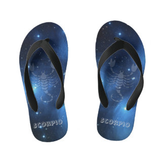 Transparent Scorpio Kid's Thongs