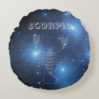 Transparent Scorpio Round Cushion