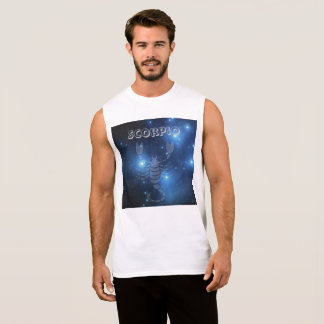 Transparent Scorpio Sleeveless Shirt