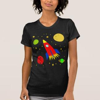 Transparent spaceship T-Shirt