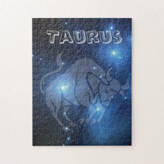 Transparent Taurus Jigsaw Puzzle