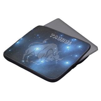 Transparent Taurus Laptop Sleeve