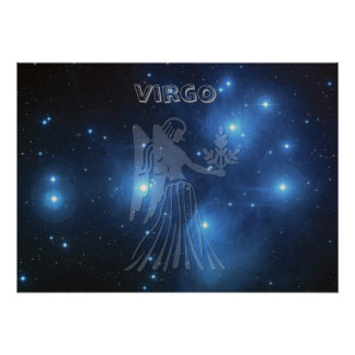Transparent Virgo Poster