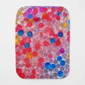 transparent water balls burp cloth