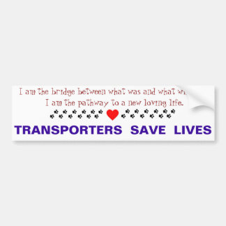 Transport Bumper Sticker