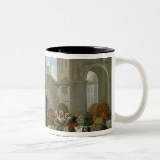 Transport of Prostitutes Two-Tone Coffee Mug