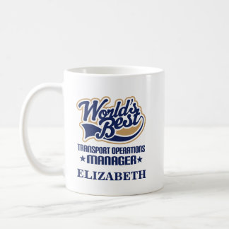 Transport Operations Manager Personalized Mug Gift