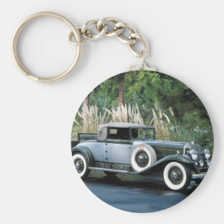 Transportation 139 basic round button key ring