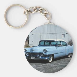 Transportation 168 basic round button key ring