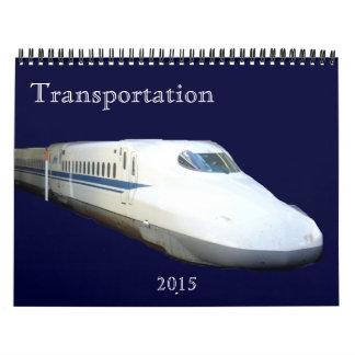 transportation 2015 calendar