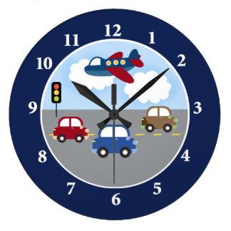 Transportation Clock
