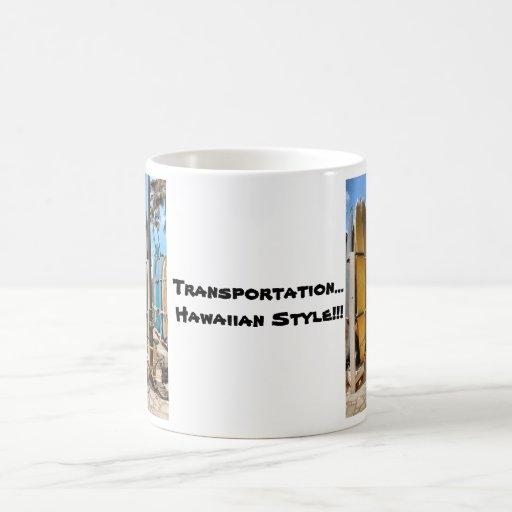 Transportation Hawaiian Style Coffee Mug