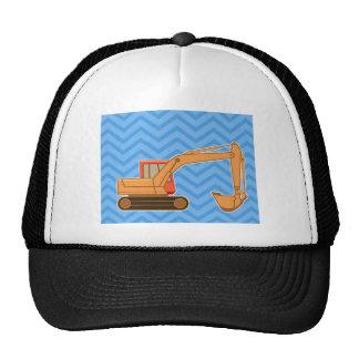 Transportation Heavy Equipment Backhoe – Blue Trucker Hats