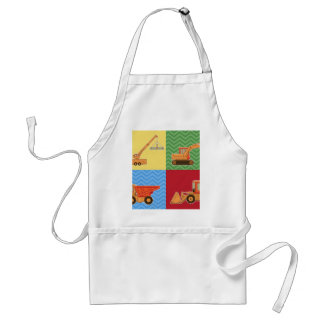 Transportation Heavy Equipment - Collage Aprons