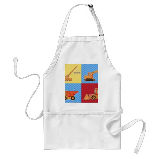 Transportation Heavy Equipment – Collage Aprons