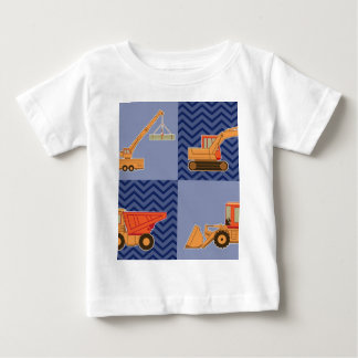 Transportation Heavy Equipment – Collage Baby T-Shirt