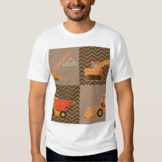 Transportation Heavy Equipment – Collage T Shirt