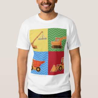 Transportation Heavy Equipment - Collage T Shirt