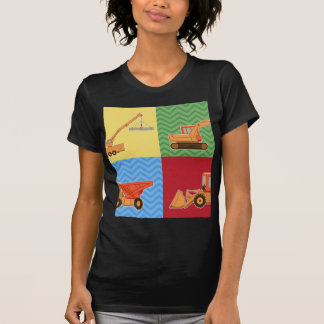 Transportation Heavy Equipment - Collage T-Shirt