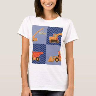 Transportation Heavy Equipment – Collage T-Shirt