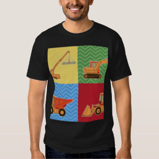 Transportation Heavy Equipment - Collage T-shirts