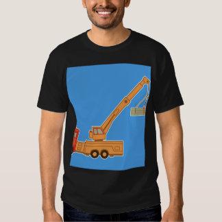 Transportation Heavy Equipment Crane Tshirt