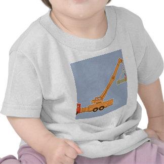 Transportation Heavy Equipment Crane T-shirts